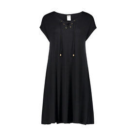 Tie Neck Swing Dress