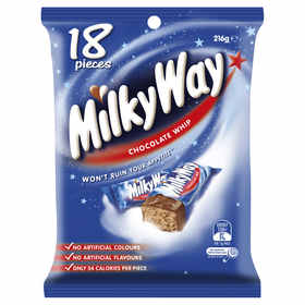 Milky Way Chocolate Whip Funsize - Pack of 18