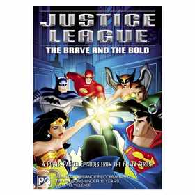 Justice League: The Brave and the Bold - DVD