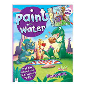 Paint with Water: Dinosaurs - Book