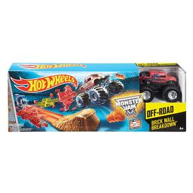 Hot Wheels Monster Jam Brick Wall Breakdown