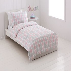 Greta Printed Quilt Cover Set - Single