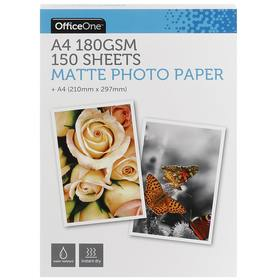 Matte Photo Paper - A4, Pack of 150
