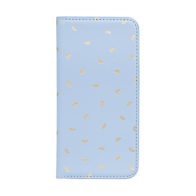 iPhone 6 Flip Case - Blue & Gold