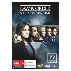 Law & Order: Special Victims Unit Year 17 - DVD
