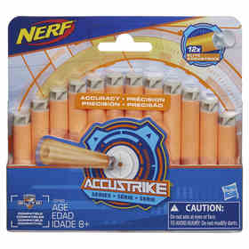 Nerf Accustrike Darts - Pack of 12