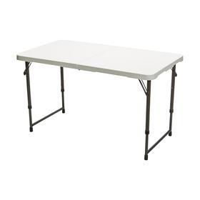 Genial Adjustable Fold In Half Table