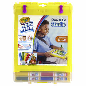 Crayola Color Wonder Stow & Go Studio Kit