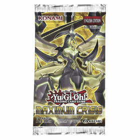 Yu-Gi-Oh! TCG Maximum Crisis Blister Pack
