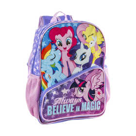 My Little Pony Backpack with Water Bottle