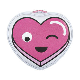Heart Pencil Case - Pink