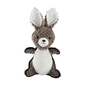 Tough Plush Rabbit Pet Toy