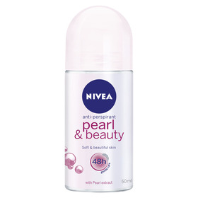 NIVEA 50ml Pearl & Beauty 48h Anti-Perspirant Roll-On
