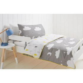 Cloudy Day Pattern Cot Comforter Set
