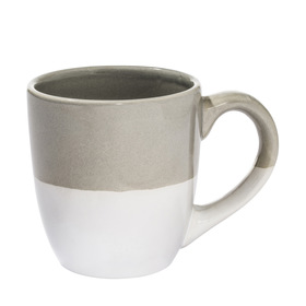 Spliced Mug - Grey & White