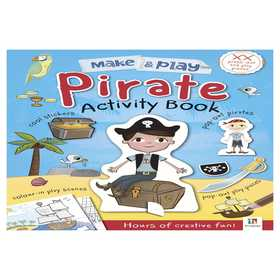Make & Play Pirates Activity Book
