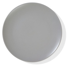 Matte Taupe Dinner Plate