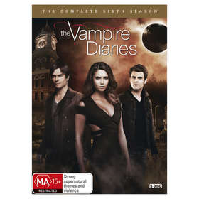 The Vampire Diaries: The Complete Sixth Season - DVD