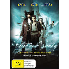 Peter & Wendy: Based on the Novel Peter Pan by J.m. Barrie - DVD