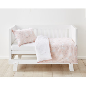Cotton Cot Quilt Cover Set - Bunny