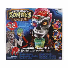 Doctor Dreadful Zombie Lab Candy and Drink Kit