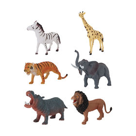 Wild Animal Figurine - Assorted