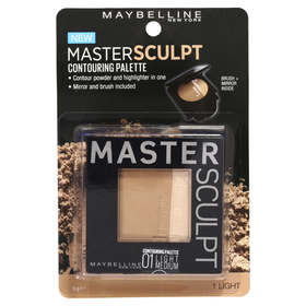 Maybelline New York Master Sculpt Contouring Palette - 9g, 01 Light Medium