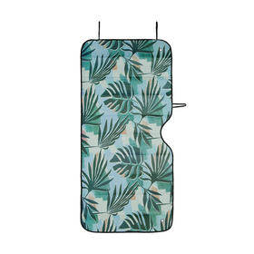 Front Accordion Sunshade - Palm Tree