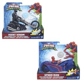 Spider-Man Web City Cycle - Assorted