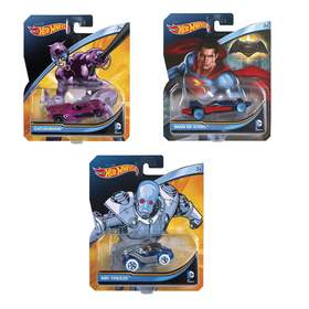 Hot Wheels DC Character Cars - Assorted