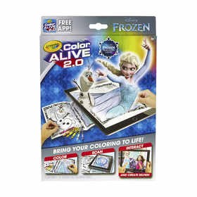 Crayola Color Alive Disney Frozen Kit
