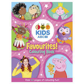 ABC Kids Favourites! Colouring Book - Book