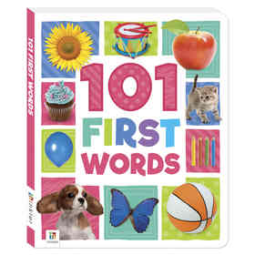 101 First Words - Book
