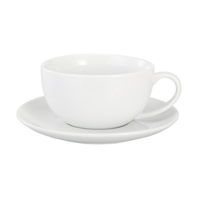 Super White Cup & Saucer