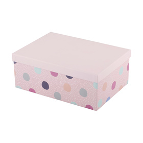 Large Polka Dot Gift Box