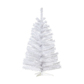 90cm (3ft) White Christmas Tree