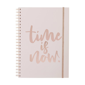 Rose Gold Look A4 Notebook