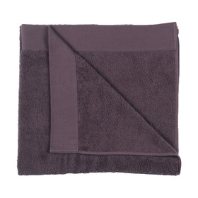 Malmo Cotton Bath Sheet - Aubergine