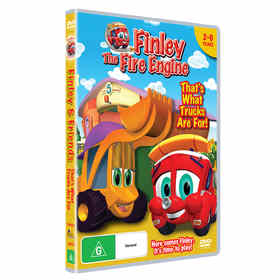 Finley: The Fire Engine - DVD